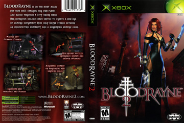 Bloodrayne 2 Xbox The Cover Project