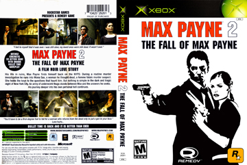 Max Payne 2 Xbox The Cover Project