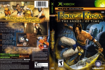 Prince Of Persia The Sands Of Time Xbox The Cover Project