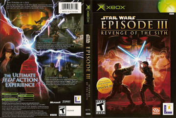Star Wars Episode Iii Revenge Of The Sith Xbox The Cover Project