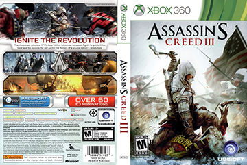 Assassin S Creed Iii X360 The Cover Project