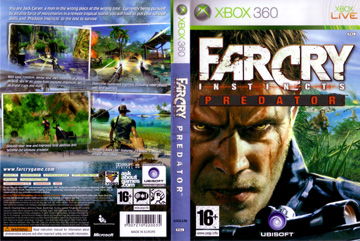 Far Cry Instincts Predator X360 The Cover Project
