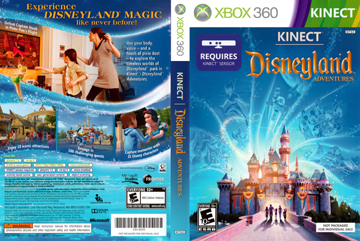 Kinect: Disneyland Adventures (X360) - The Cover Project