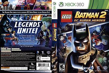 Lego Batman 2 Dc Super Heroes X360 The Cover Project
