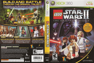 Lego Star Wars Ii The Original Trilogy X360 The Cover Project