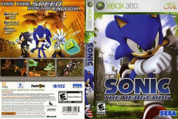 Sonic The Hedgehog X360 The Cover Project