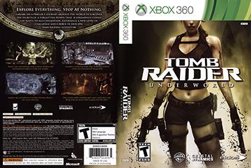 Tomb Raider Underworld X360 The Cover Project
