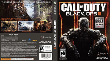 Call Of Duty Black Ops Iii Xbox One The Cover Project
