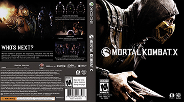 Mortal Kombat X Xbox One The Cover Project