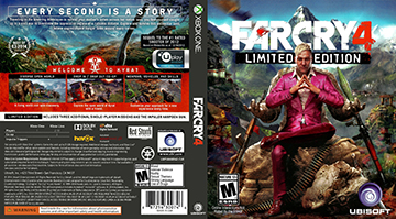 Far Cry 4 Xbox One The Cover Project